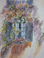 French Window Scene