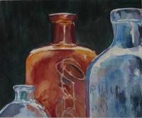 Glass Bottles III