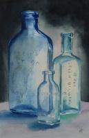 Glass Bottles IV