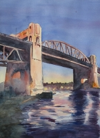 Burrard Bridge at Sunset
