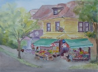 Barklay Street Grocery Store